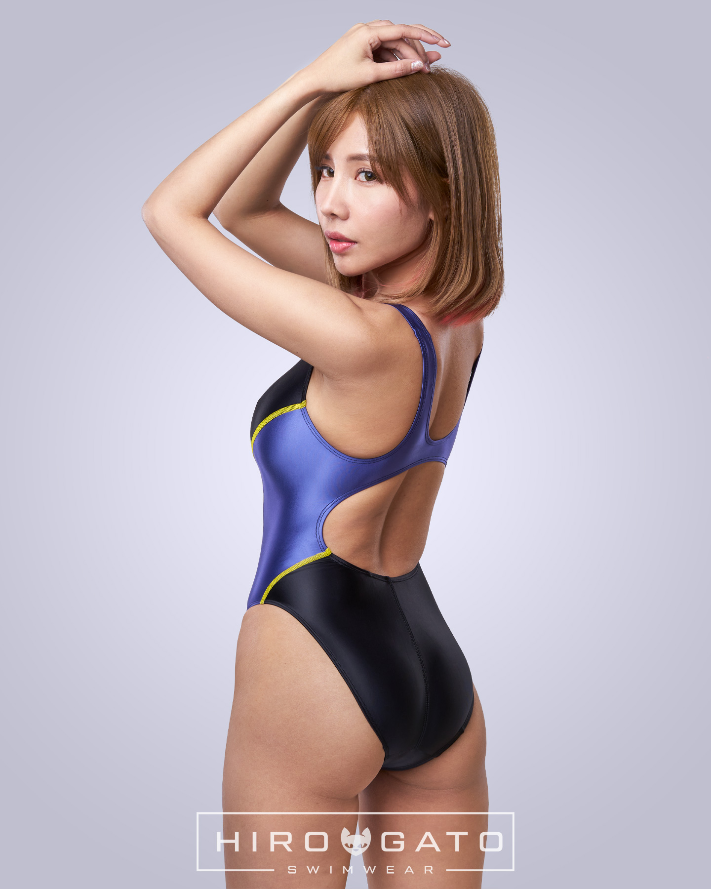 Swimsuit Black Blue