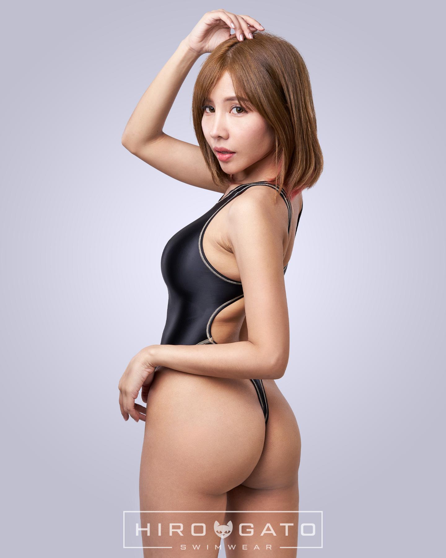 Thong Swimsuit Black